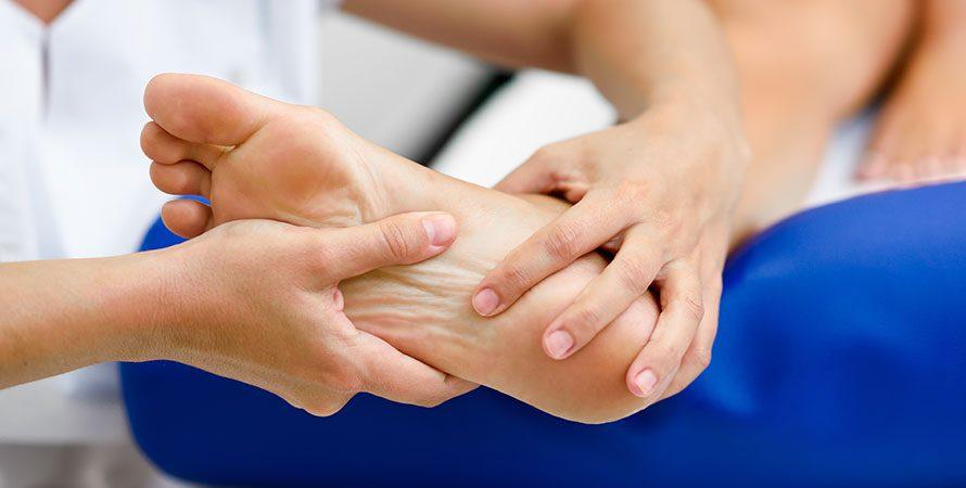 Θεραπεία ποδιών